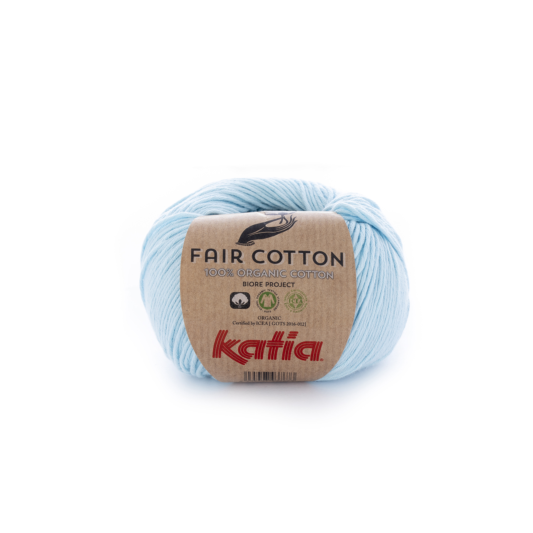 Fair Cotton 08 Light sky blue
