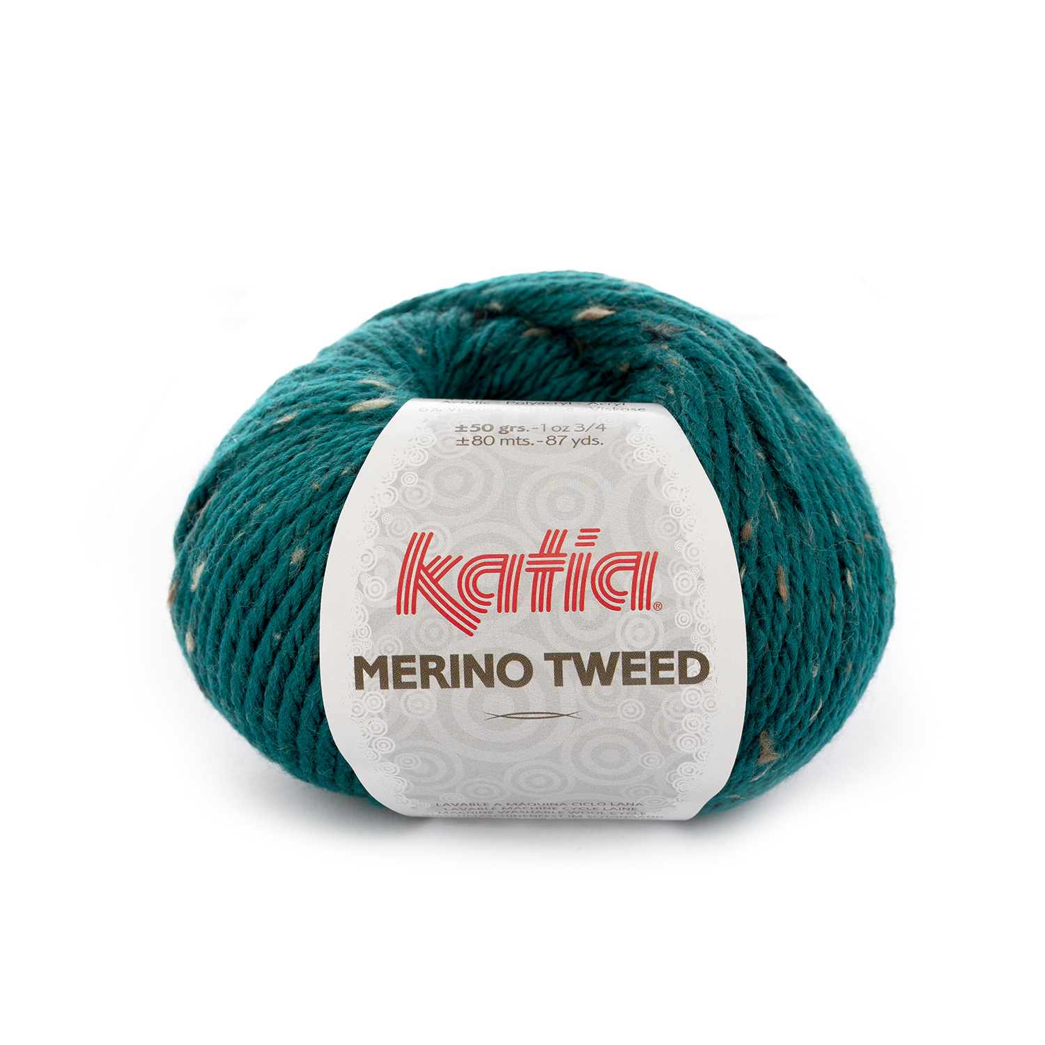 Merino Tweed 311 Emerald green