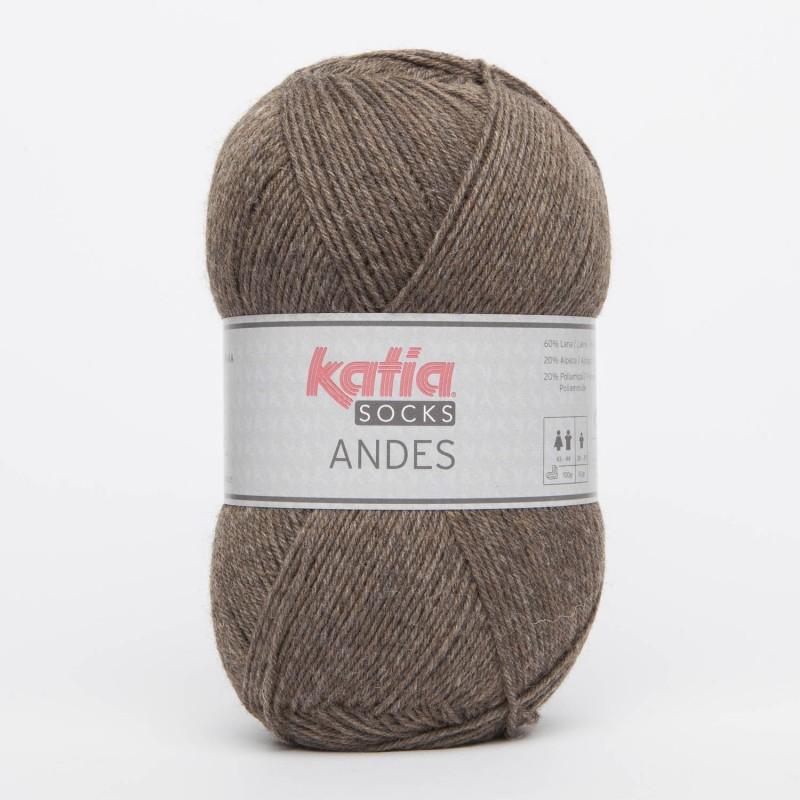 Socks Andes 200 Fawn brown