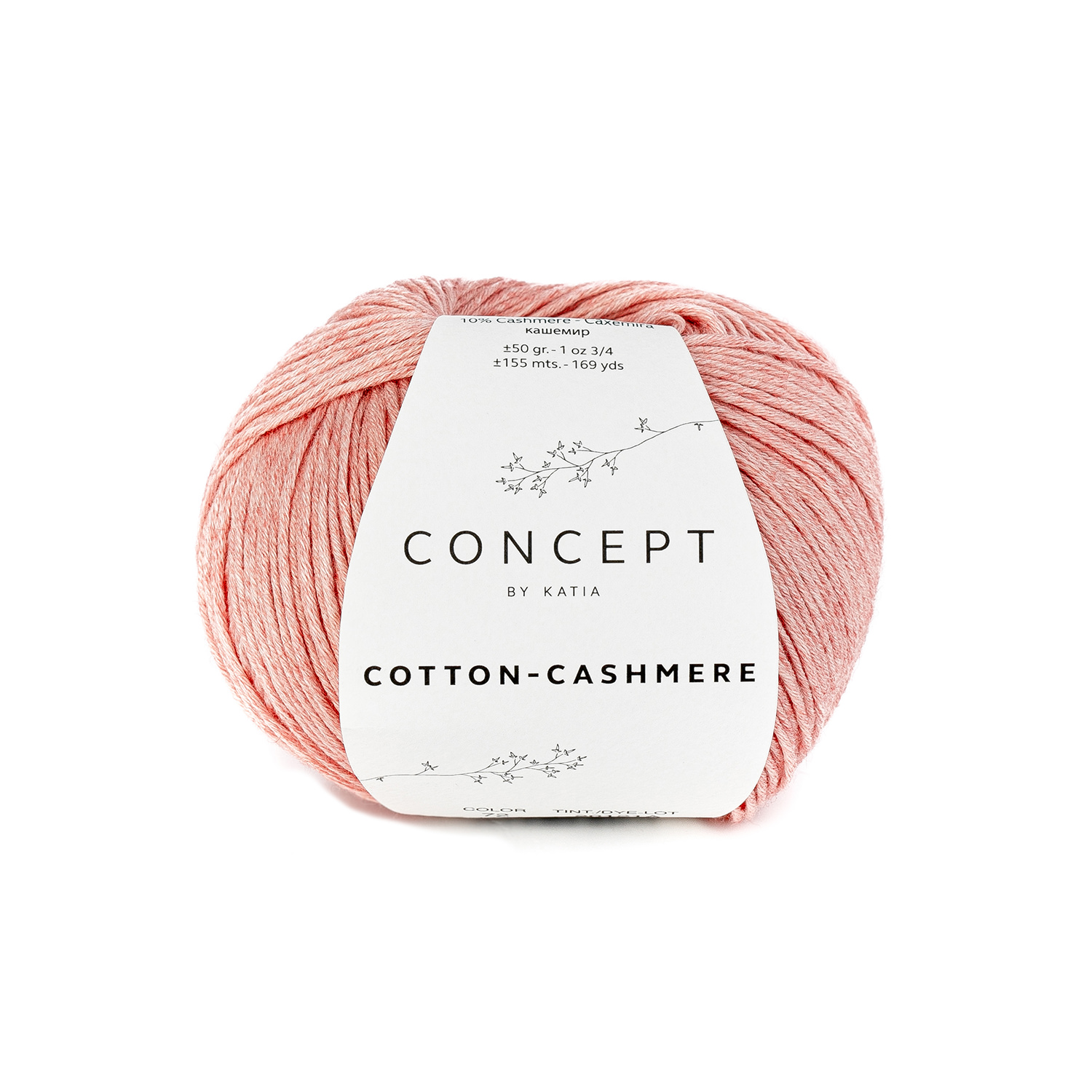 Cotton Cashmere 72 Salmon range