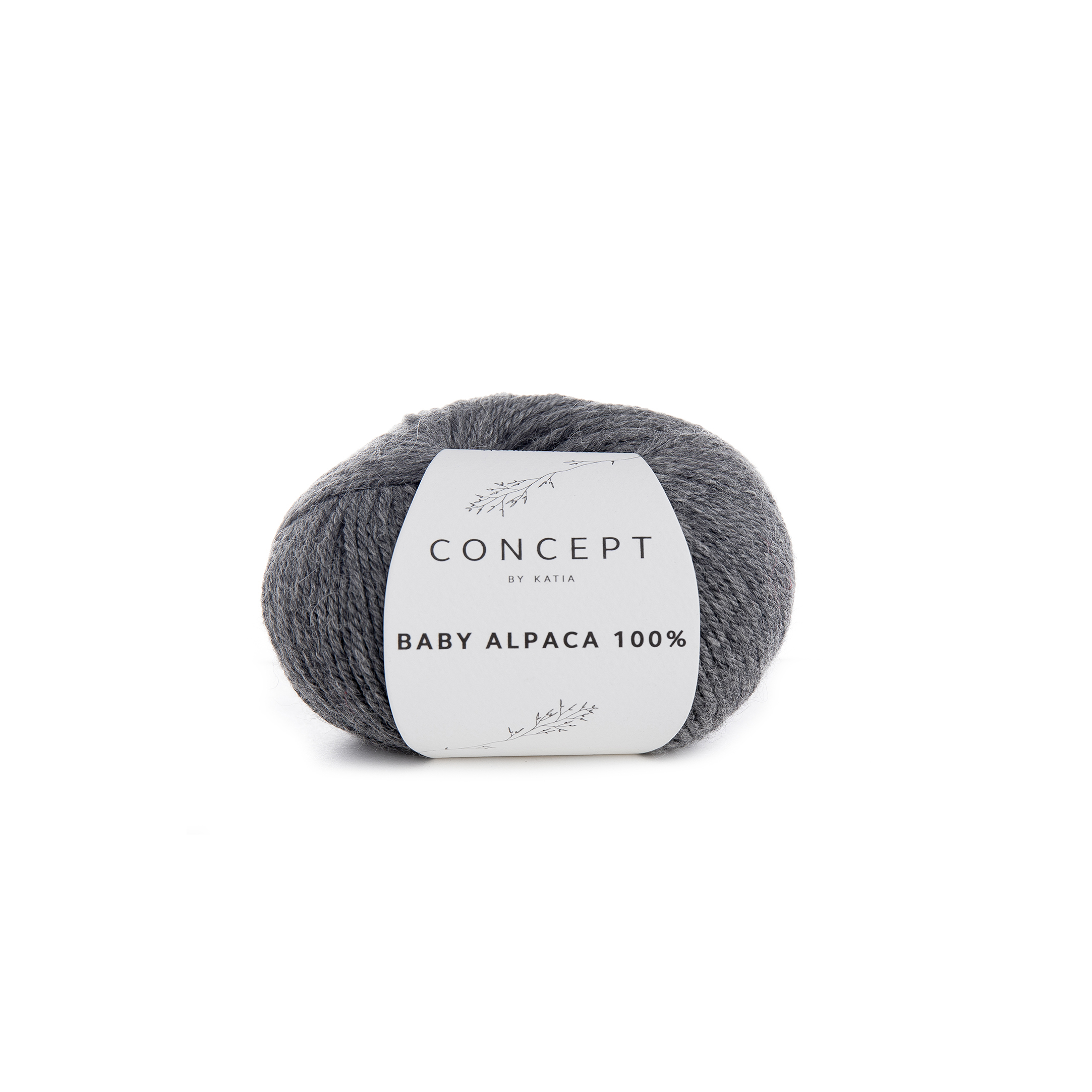 Baby Alpaca 504 Medium grey