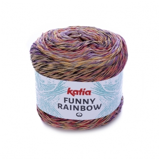 Funny Rainbow 101 Orange-rust-lilac