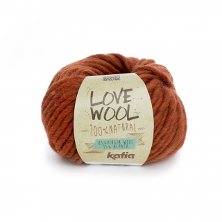 Love Wool 114 Medium orange