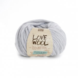 Love Wool 105 Pearl light grey