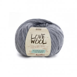 Love Wool 106 Light grey